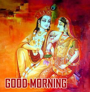 Jai Shri Krishna Good Morning Wallpaper Download